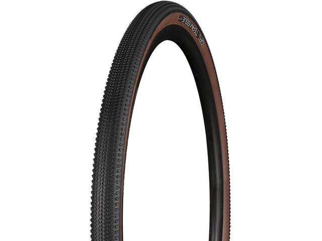 "Bontrager GR1 Team Issue Gravel TR Tire 28"", black/brown"